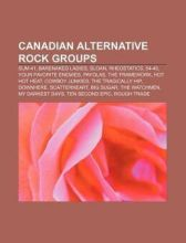 Canadian alternative rock groups